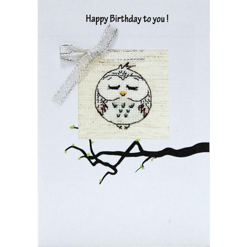 Аву, вышивка крестом открыток с днем рождения