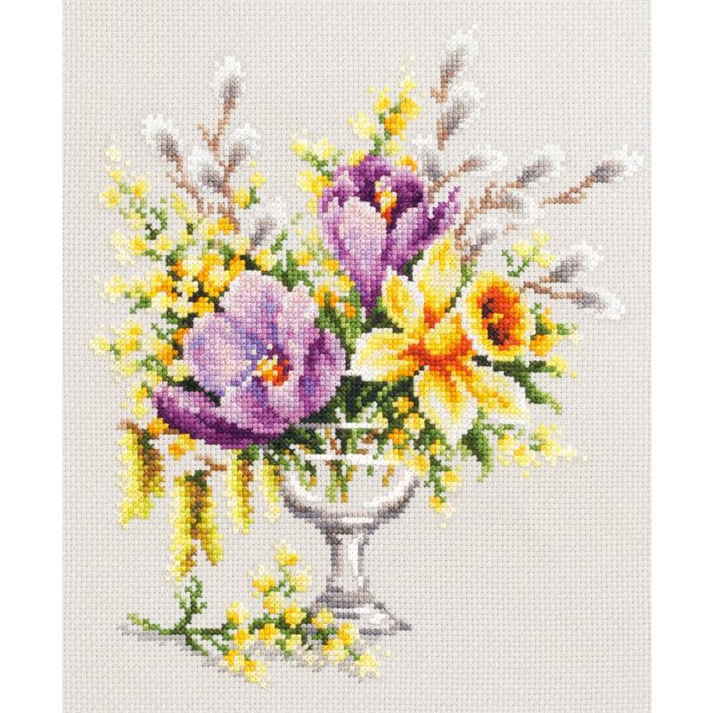 Букет сиреневый чудная игла, цветов заказать