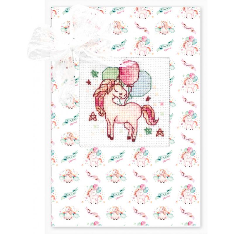 Наборы для вышивания крестиком открытка, новым годом стиле